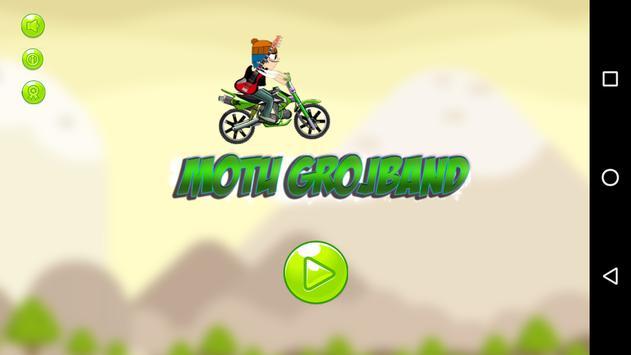 Motorcycle Grojband Games Fee screenshot 2
