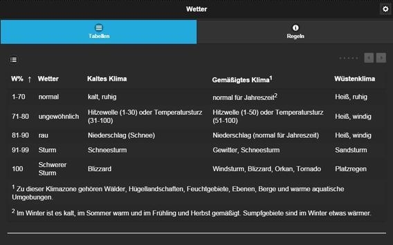 Pathfinder Kompaktregeln apk screenshot