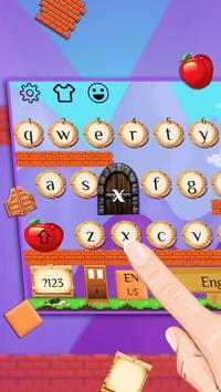 Cute Game Keyboard Theme screenshot 1