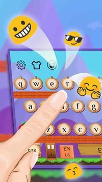 Cute Game Keyboard Theme screenshot 2