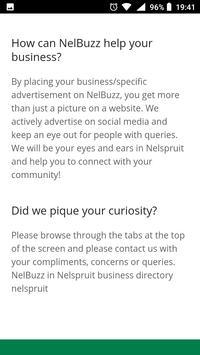 NelBuzz (Nelspruit/South-Africa). Directory screenshot 13