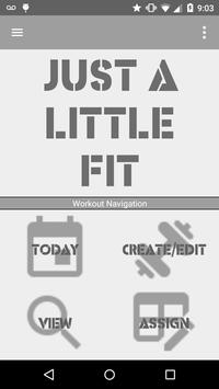 Just A Little Fit poster