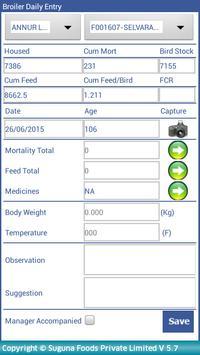 Broiler Farm Management screenshot 4