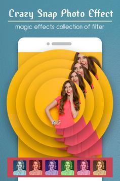 Crazy Snap Photo Effect : Magic Photo Editor poster
