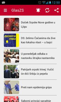 Glas Zapadne Srbije 2015 poster
