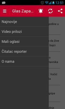 Glas Zapadne Srbije 2015 apk screenshot