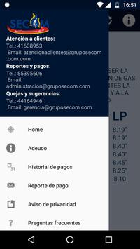 SECOMMovil screenshot 1