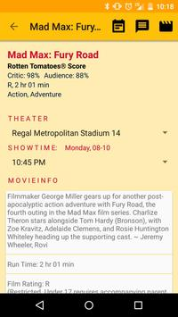 MovieNow - In Theaters apk screenshot
