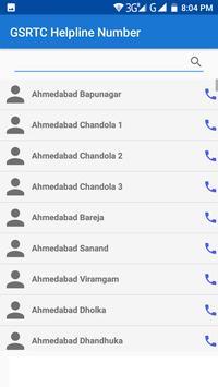 GSRTC Helpline Number screenshot 2