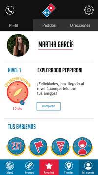 Domino's Pizza Guatemala apk screenshot