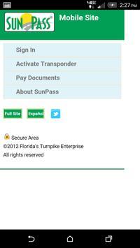 SunPass screenshot 1