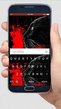 Bloody Panther Keyboard Themes poster