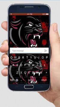 Bloody Panther Keyboard Themes apk screenshot
