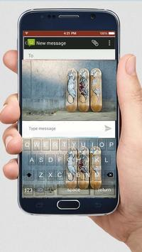 Skate Graffiti Keyboard Themes apk screenshot