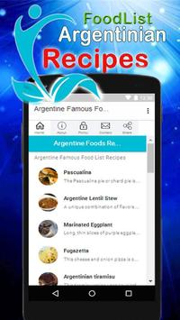 Argentine Famous Food Recipes poster