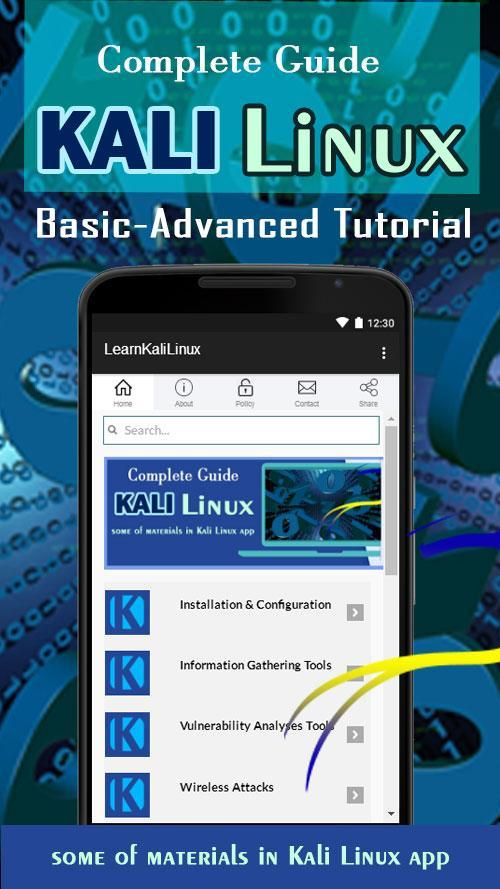 Learn Kali Linux Revealed Book for Android - APK Download