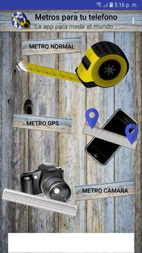 Meters on your phone poster