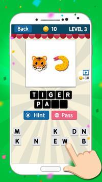 Guess The Emoji - Word Game apk screenshot