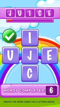 Guess the Word in English - Letters screenshot 14