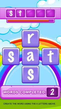 Guess the Word in English - Letters screenshot 2