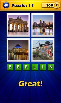 4 Pics 1 City poster