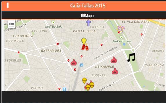 Guia Fallas 2015 apk screenshot