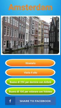 Guida Amsterdam in italiano poster