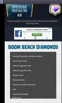 Free Diamonds for Boom Beach apk screenshot