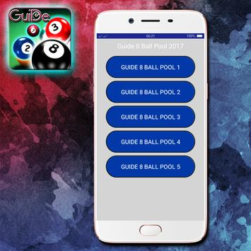 Guide 8 Ball Pool 2017 Tips poster