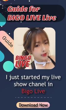 Guide for BIGO LIVE Live apk screenshot