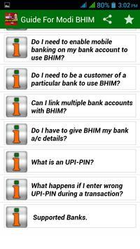 Modi BHIM Guide (No Internet) screenshot 2