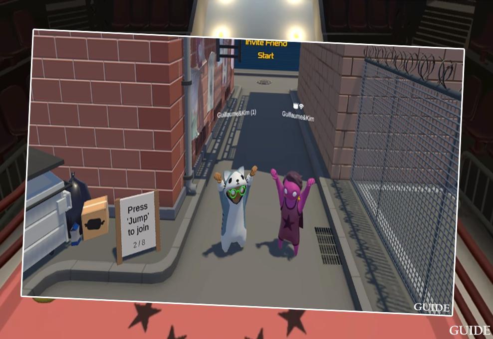 Скачать игру gang beasts на андроид