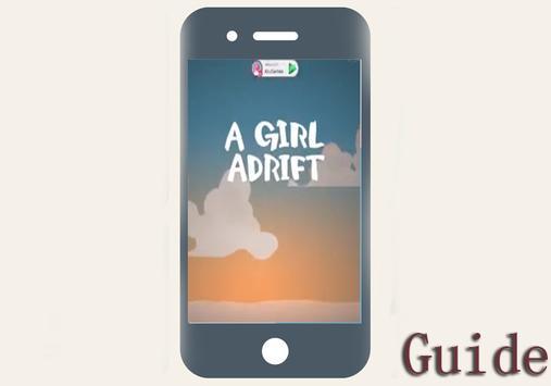 Tips of a Girl adrift poster