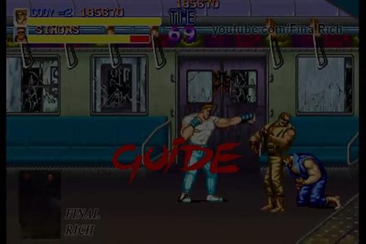 NEW Guide for Final Fight 2017 apk screenshot