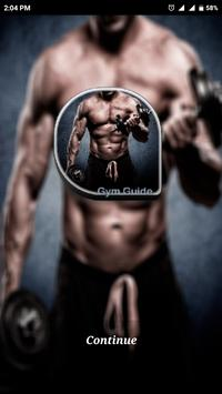 Gym Guide App poster