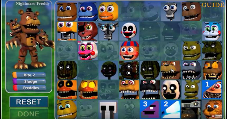 guide FNAF WORLD (FIVE NIGHTS AT FREDDY'S WORLD) for Android