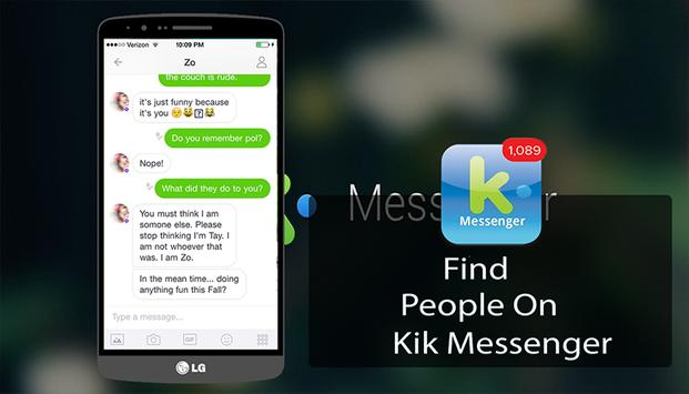 GUIDE For KIK Chat poster