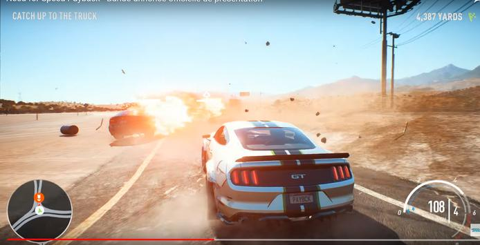 Tips of NEED FOR SPEED PAYBACK screenshot 1