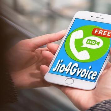 New Jio4GVoice free Video Calls & Jio Guide ... poster
