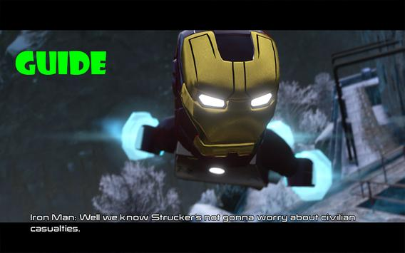 ProGuide Lego Marvel Avengers apk screenshot