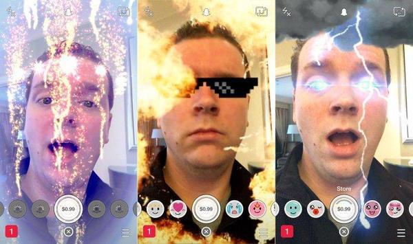 Guide lenses for Snapchat 2016 screenshot 2