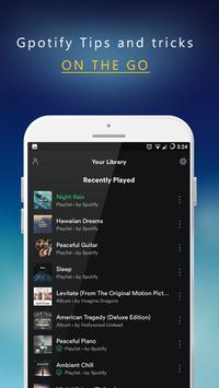 Guide for Spotify Music &Radio apk screenshot