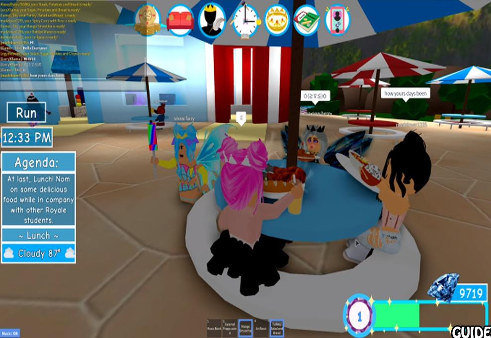 Royale High Guide Tips For Roblox Apk By Games Gameplays Tips Roblox Royale High Princess School For Android Apk Download