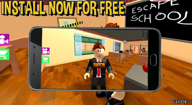 Download Tips Of Roblox Escape School Obby Apk For Android