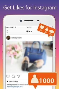 Free Boost Instagram Likes Tip poster