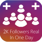 +2K Instagram Followers On Day #Real_Increase! 圖標