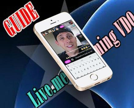 Guide Live.me Streaming VDO apk screenshot