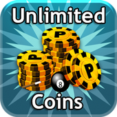 8 Ball Pool Unlimited Coins icon