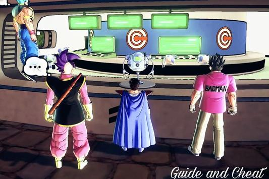 Guide Dragon Ball Xenoverse 3 apk screenshot