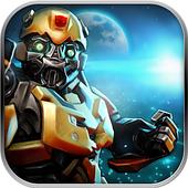 War robots, robot chicken Robot Shark war fighting icon